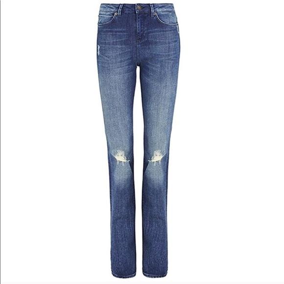 Sass Bide Jeans Sass Bide Nwt Distressed High Rise Flare Poshmark